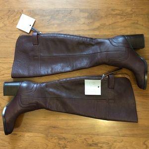 6355f01544a Franco Sarto Shoes - NWT Franco Sarto Ollie Dark Burgundy Wide Calf